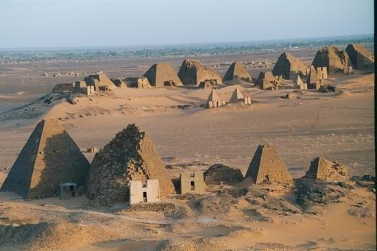 Sudanese pyramids in the city of Marawi. Source: Trip Advisor